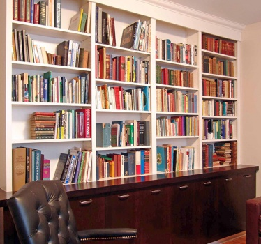 Retired lawyer's study, Rockcliffe Park