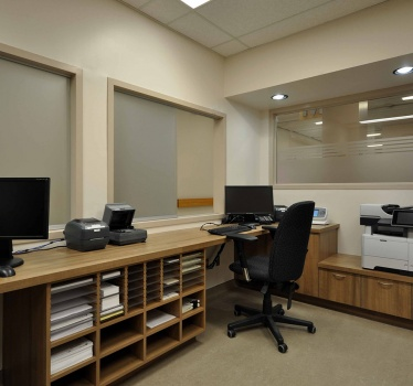 The Ottawa Hospital, General Campus, Module M reception refurbishment