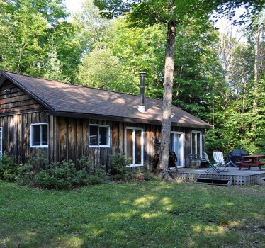 New cottage, Haliburton, Ontario