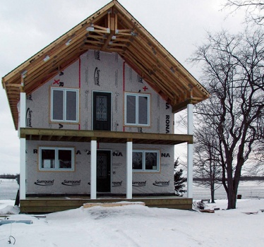 New cottage, Morrisburg, Ontario