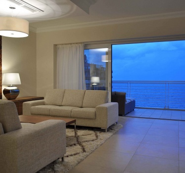 3-bed high-rise apartment, Sliema, Malta