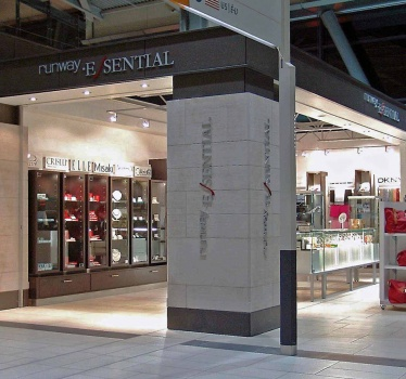 Duty Free stores, Ottawa Airport (assistance to Griffiths Rankin Cook Architects)