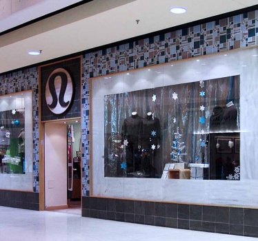 Lululemon, Rideau Centre, Ottawa (assistance to Lululemon Design Department)