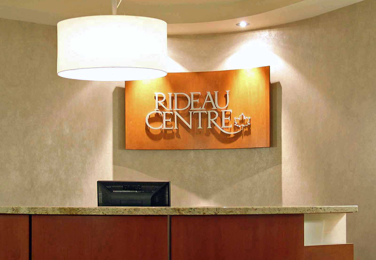 rideau centre admin offices ottawa entrance and. Black Bedroom Furniture Sets. Home Design Ideas